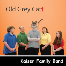 Old Grey Cat Cover